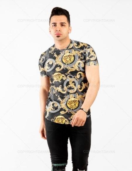 تصویر تیشرت مردانه Versace مدل 13509