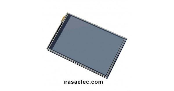 تصویر نمایشگر رسپبری پای LCD TFT 3.5 Inch + Touch