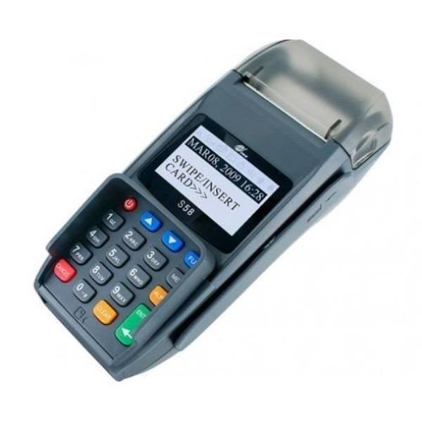 تصویر دستگاه کارتخوان فروشگاهی پکس مدل s58 ا (s58 Terminal POS) (s58 Terminal POS)