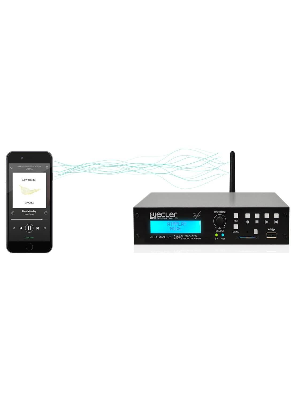تصویر پخش کننده صوتی - Ecler Audio ePLAYER1
