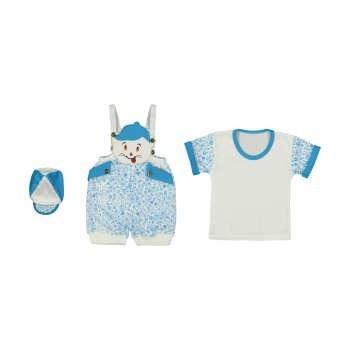 ست 3 تکه لباس نوزاد کد 1079
