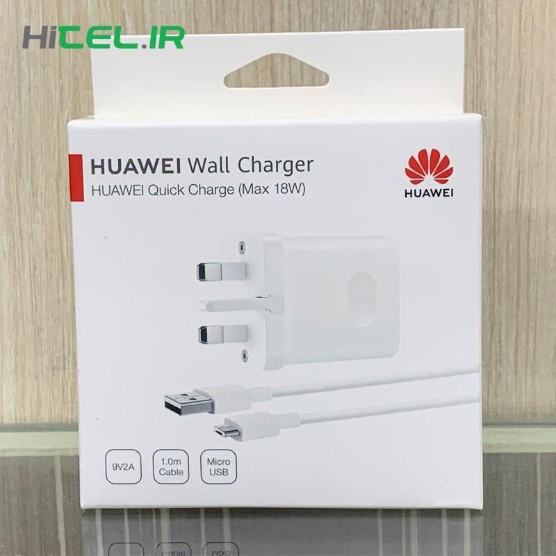شارژر اصلی هواوی 18 وات Huawei Quick Charge |