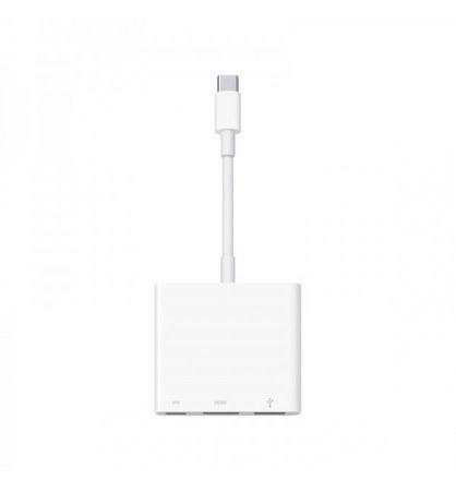 تصویر اپل کیت آداپتور تبدیل USB-C به HDMI Apple USB-C Digital AV Multiport Adapter (USB-C to HDMI)