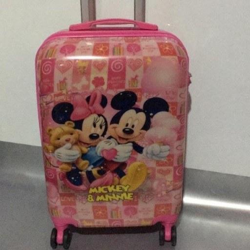 چمدان چرخدار دخترانه و پسرانه در طرحهای مختلف.