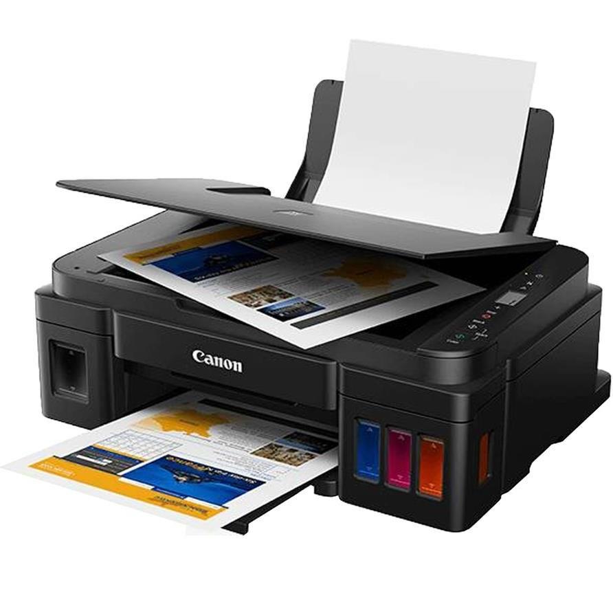 تصویر پرینتر چندکاره جوهرافشان کانن مدل PIXMA G2410 ا Canon PIXMA G2410 Multifunction Inkjet Printer Canon PIXMA G2410 Multifunction Inkjet Printer