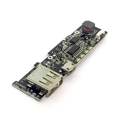 تصویر برد پاور بانک تک خروجی 5V 2A دارای LED
