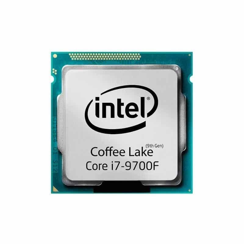 تصویر سی پی یو اینتل مدل Core i7-9700F Coffee Lake تری