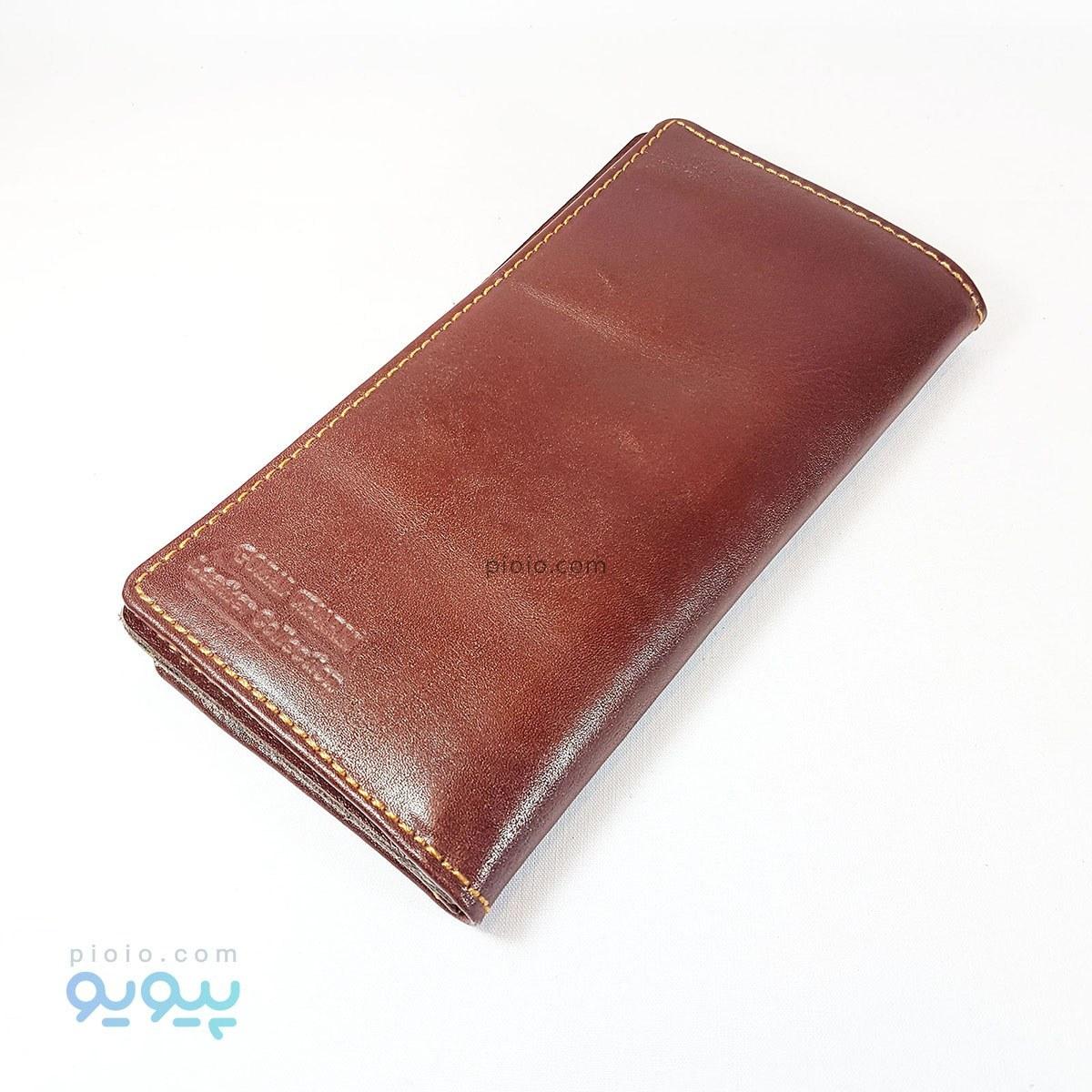 کیف پول مردانه کتی چرم گاوی کد A417 |