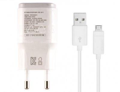 تصویر شارژر و کابل اصلی ال جی LG 1.8A MCS-04 Travel Charger Adapter