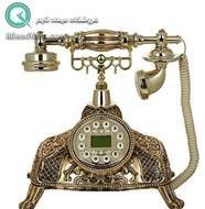 تصویر تلفن رومیزی سلطنتی آرنوس طلایی مدل 040G