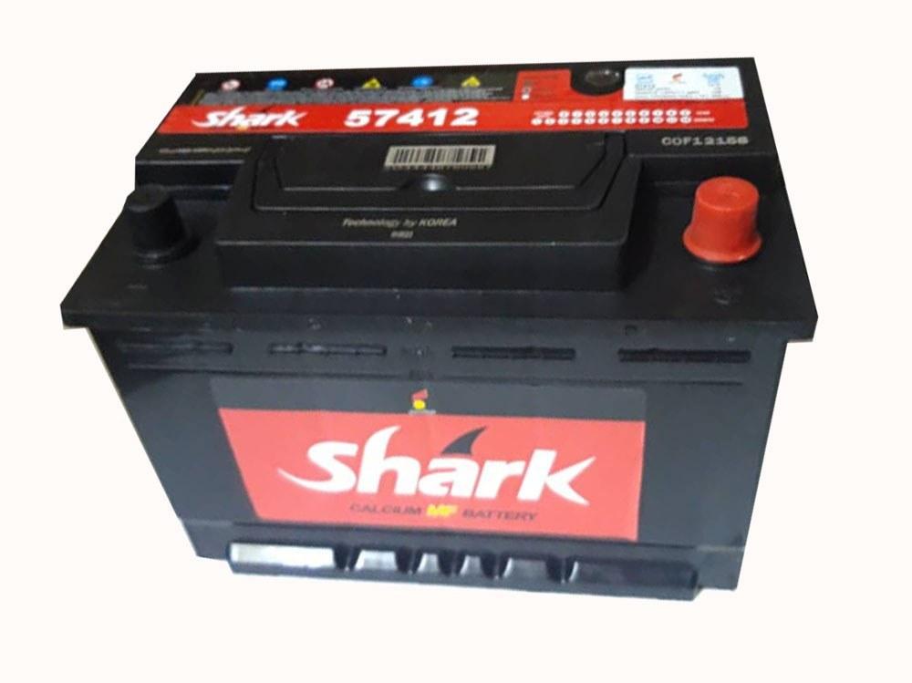 image باتری 74 آمپر شارک
