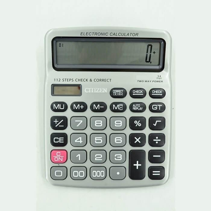 تصویر ماشین حساب رومیزی سیتیزن مدل CT-9814