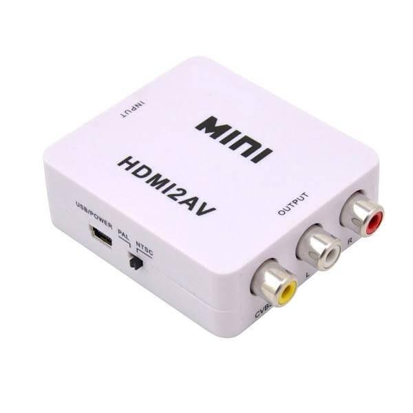 تصویر تبدیل HDMI به AV