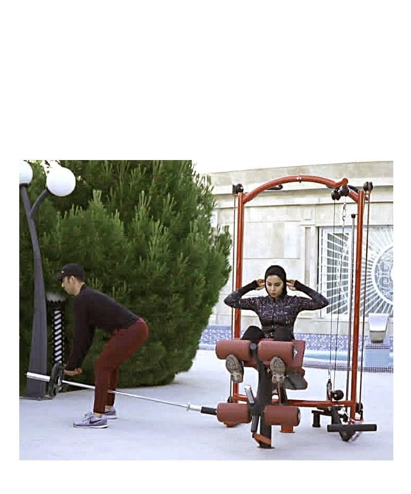 تصویر دستگاه بدنسازی خانگی Multi Gym H.T57300