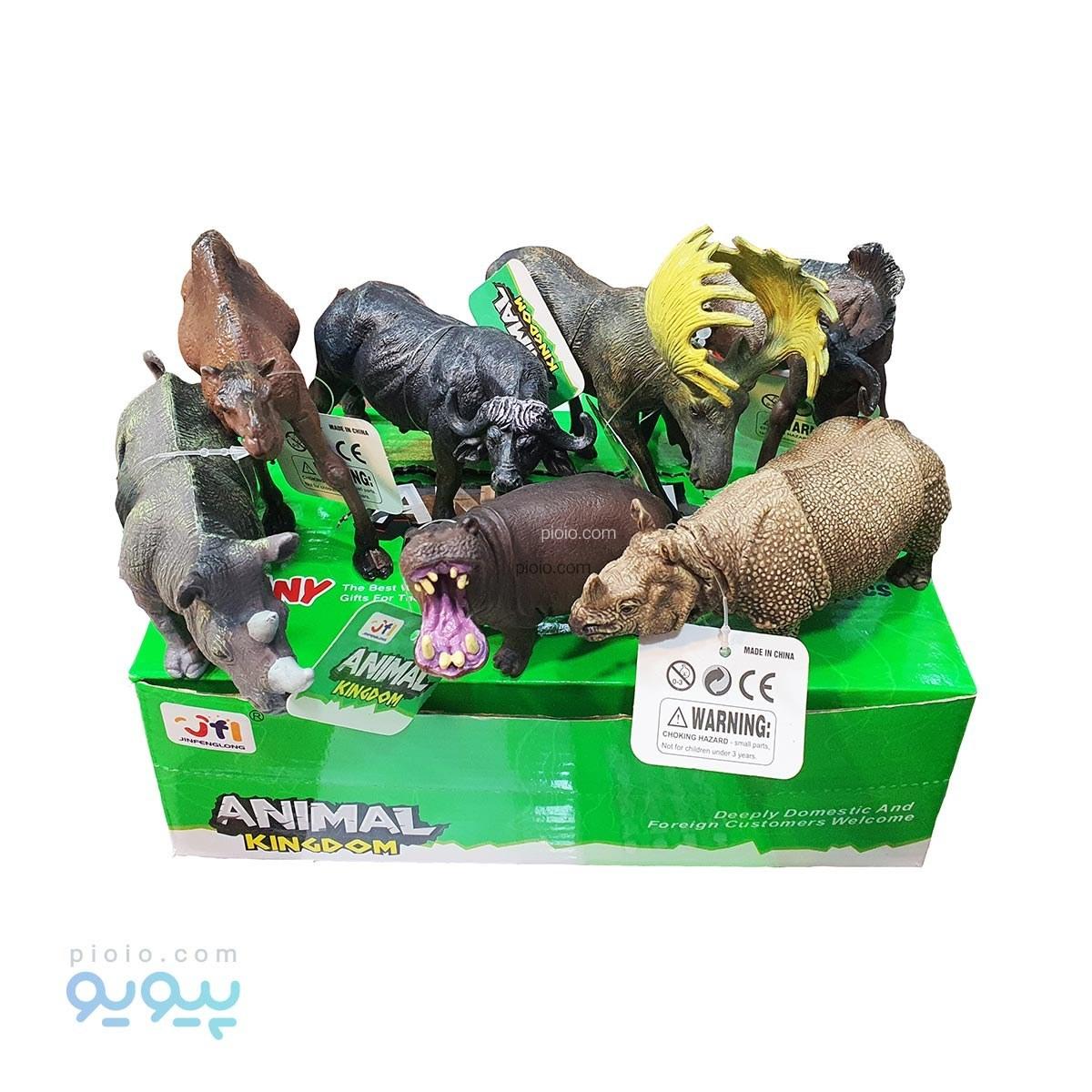 تصویر فیگور اسباب بازی حیوانات