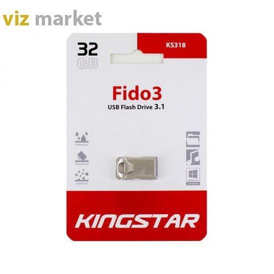 تصویر KingStar  KS318 Fido3 USB Flash Drive 3.1 32GB KingStar  KS318 Fido3 USB Flash Drive 3.1 32GB