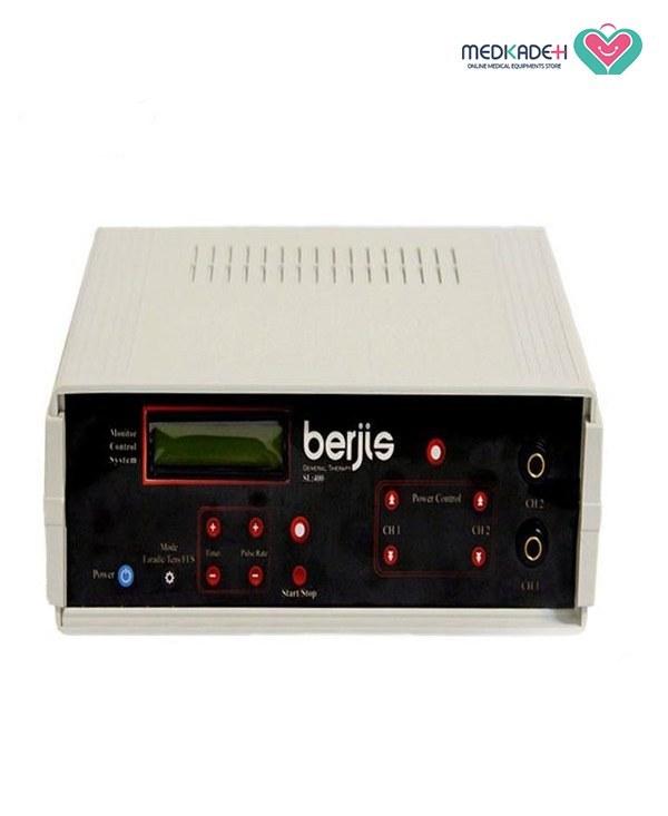 دستگاه فیزیوتراپی دیجیتالی ۲ کاناله ۴۰۰ هرتز برجیس مدل Berjis SL400 new