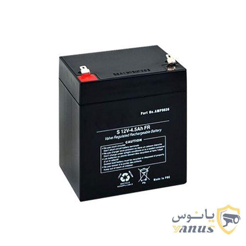 main images باتری دزدگیر اماکن 12 ولت 4.5 آمپر