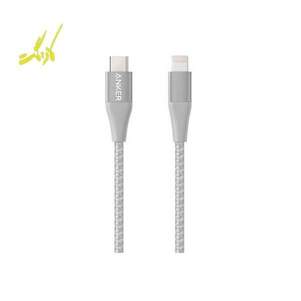 تصویر کابل تبدیل USB-C به لایتنینگ انکر مدل A8652 PowerLine II