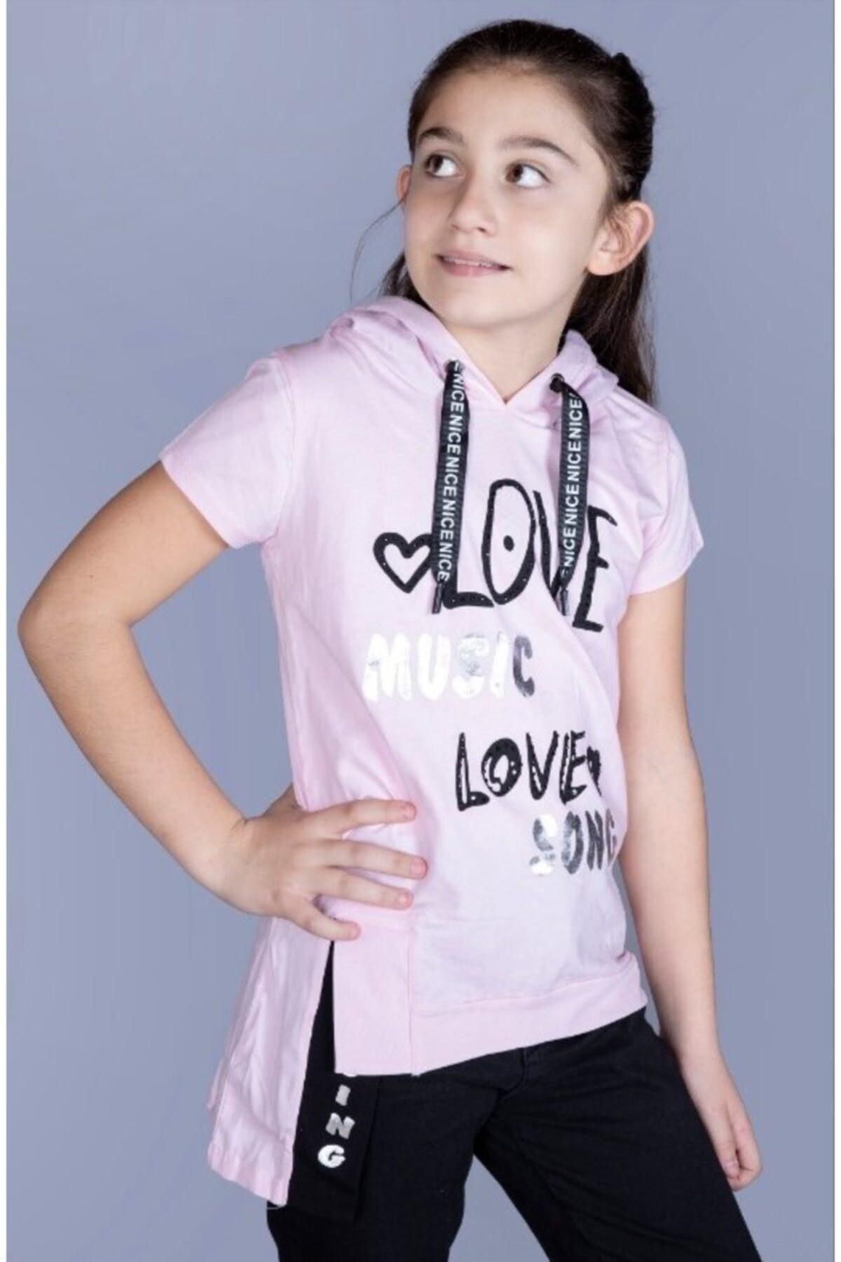 تصویر تیشرت دخترانه ارزان برند MinnakEller رنگ صورتی ty82670184