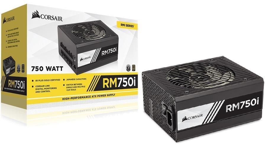 main images پاور کورسیر مدل آر ام 750 آی پاور کورسیر RM750i ATX 80PLUS Gold Power Supply