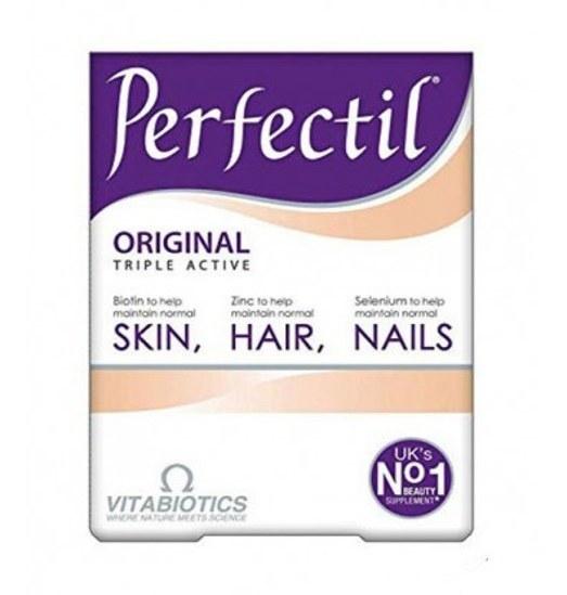 تصویر قرص پرفکتیل ویتابیوتیکس حفظ سلامت پوست و مو 30 عدد Perfectil Original Vitabiotics 30 Tablets