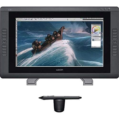 main images Wacom Cintiq 22HD قرص قرص 21 اینچ، سیاه (DTK2200) Wacom Cintiq 22HD 21-Inch Pen Display Tablet, Black (DTK2200)