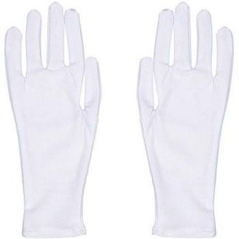دستکش نخی سفید زنانه تادو