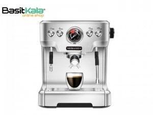 تصویر اسپرسوساز مباشی مدل ME-CCM2050 Mebashi espresso machine model ME-CCM2050