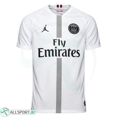 پیراهن دوم پاریسن ژرمن جردن Paris Saint Germain 2018-19 Away Soccer Jersey