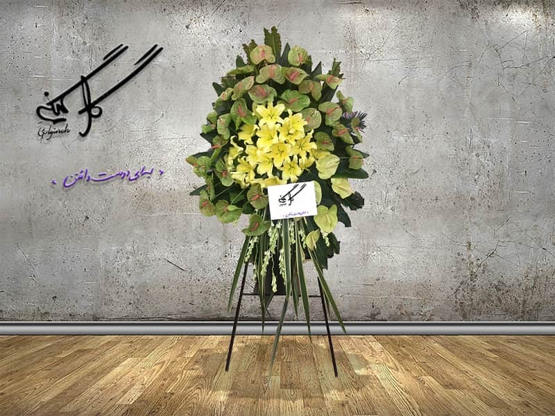 تاج گل ترحیم کد 0116