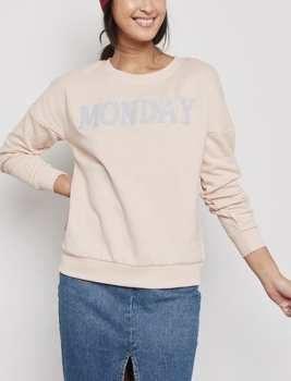 سویشرت نخی جلو بسته زنانه | Women Cotton Close Front Sweatshirt
