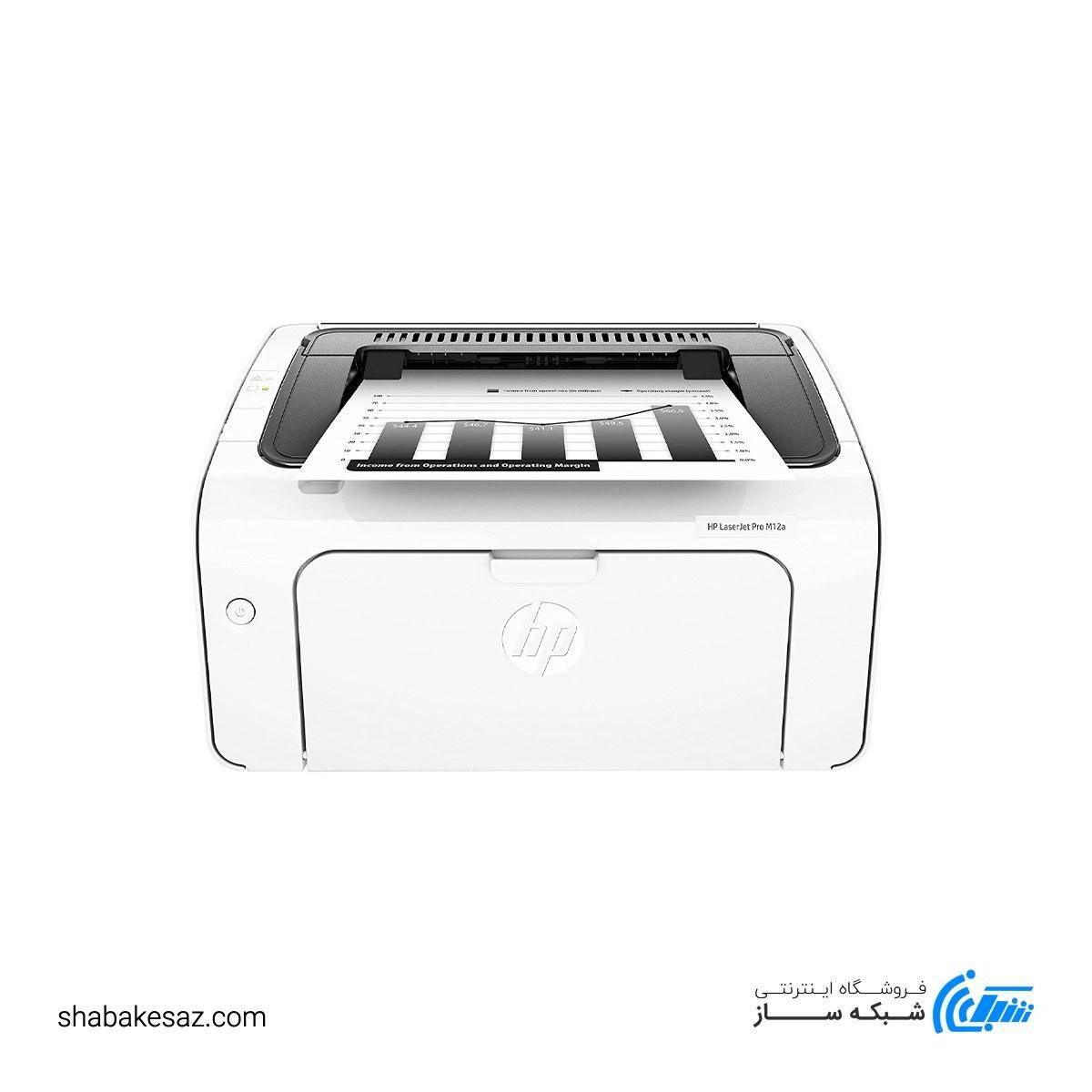 تصویر پرینتر لیزری hp مدل M12A HP Printer LaserJet Pro M12A