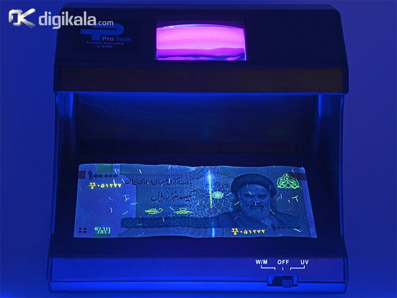 تصویر دستگاه تست اسکناس پروتک مدل دی ال ۸۸۰ ProTech DL-880 Currency Detector