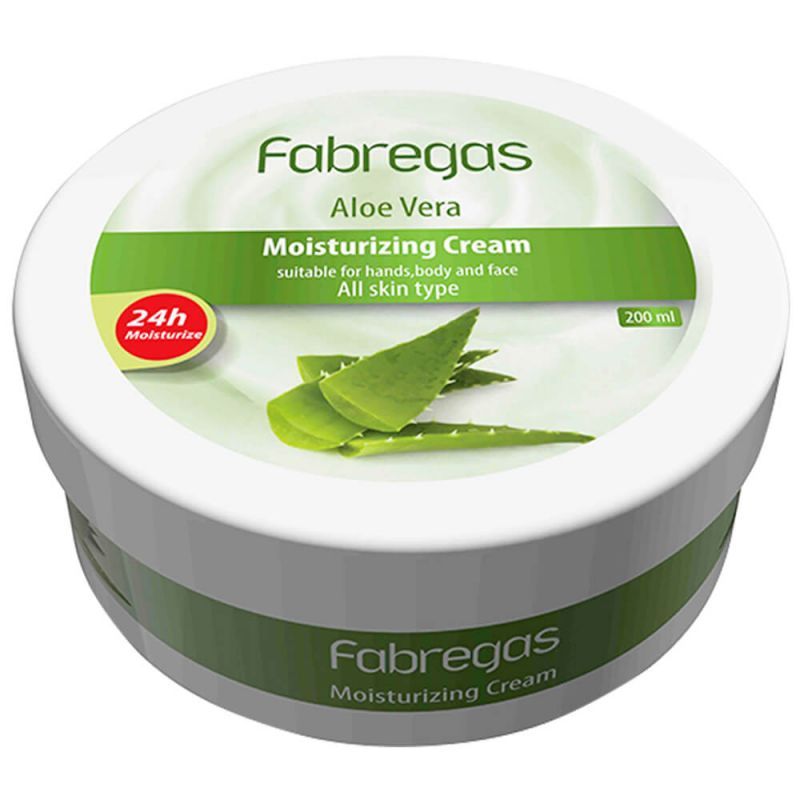 Fabregas Aloevera Moisturizing Cream 200ml