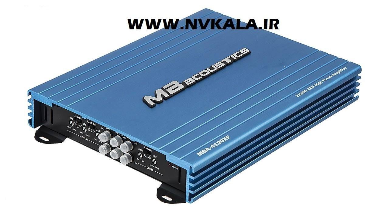 تصویر آمپلی فایر ام بی آکوستیکس مدل MBA-4120XF MB Acoustics MBA-4120XF Amplifier