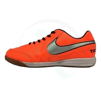 کفش فوتسال نایک تمپو نارنجی Nike Tiempo