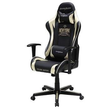 تصویر صندلی گیمینگ دی ایکس ریسر سری فرمولا مدل OH/FL116/NA/Newyork چرمی Dxracer Formula Series OH/FL116/NA/Newyork Gaming Chair