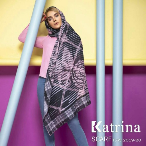 روسری پاییزه با کیفیت کاترینا |