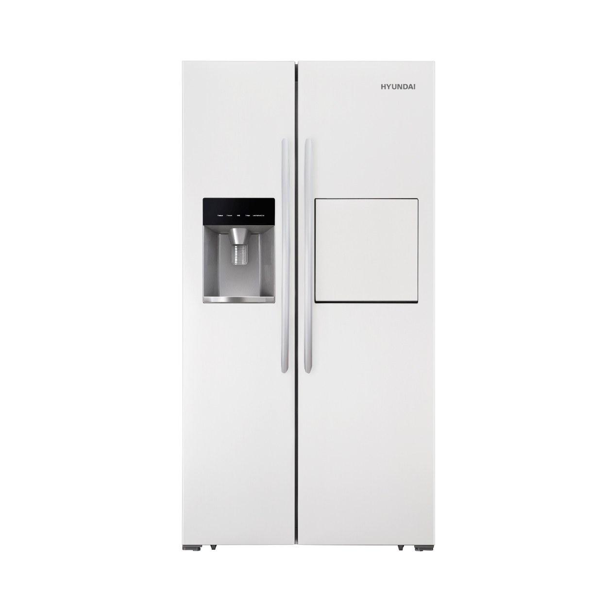 تصویر یخچال و فریز ساید بای ساید هیوندای مدل HSBS-3022 W Hyundai HSBS-3022 W Side by Side Refrigerator-Freezer