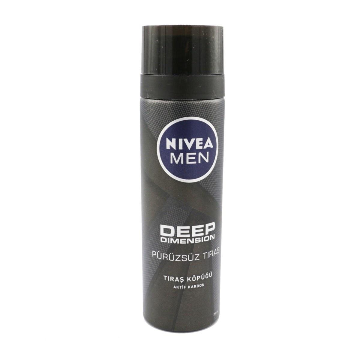 تصویر ژل اصلاح نیوآ مدل Deep با حجم 200 میلی لیتر Nivea Men Deep Clean Shave 200ml