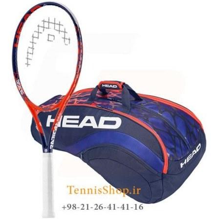 راکت تنیس هد سری Radical مدل PRO تکنولوژی گرافن تاچ  + ساک تنیس هد سری رادیکال مدل 12 راکته |