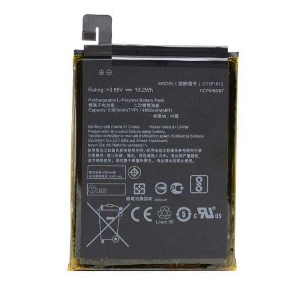 تصویر باتری موبایل مدل C11P1612 ظرفیت 5000 میلی آمپر ساعت مناسب برای گوشی موبایل ایسوس ZENFONE 3 ZOOM