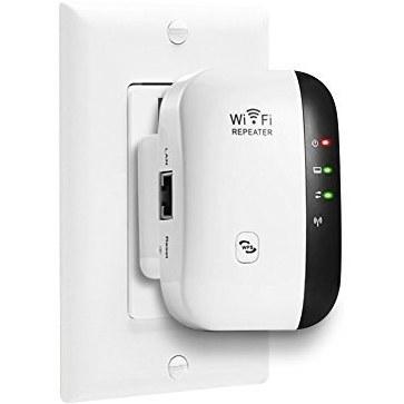 عکس 300 مگابیت در ثانیه WiFi محدوده گسترش دهنده بی سیم-N تکرار کننده WiFi تقویت کننده آداپتور شبکه تقویت کننده قدرت سیگنال نقطه دستیابی به سیگنال کامل حالت های تکرار / پوشش APP پوشش سیگنال کامل 802.11 b / g / n را با WPS (پلاگین ایالات متحده) تکمیل کنید 300 Mbps WiFi Range Extender Wireless-N Repeater WiFi Booster Network Adapter Enhance Signal Strength Access Point Full Signal Coverage Repeater/AP Modes Comply 802.11 b/g/n with WPS(US Plug) 300-مگابیت-در-ثانیه-wifi-محدوده-گسترش-دهنده-بی-سیم-n-تکرار-کننده-wifi-تقویت-کننده-اداپتور-شبکه-تقویت-کننده-قدرت-سیگنال-نقطه-دستیابی-به-سیگنال-کامل-حالت-های-تکرار-پوشش-app-پوشش-سیگنال-کامل-80211-b-g-n-را-با-wps-پلاگین-ایالات-متحده-تکمیل-کنید