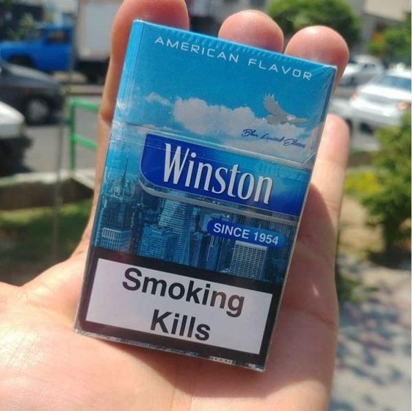سیگار وینیستون آبی لیمیتد ادیشن | winston blue limited edition