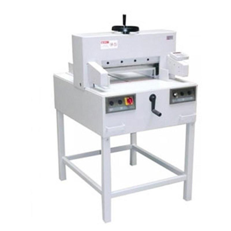تصویر دستگاه برش کاغذ مدل 480MMD سیسفورم ا Paper cutting machine model 480MMD Cisform Paper cutting machine model 480MMD Cisform