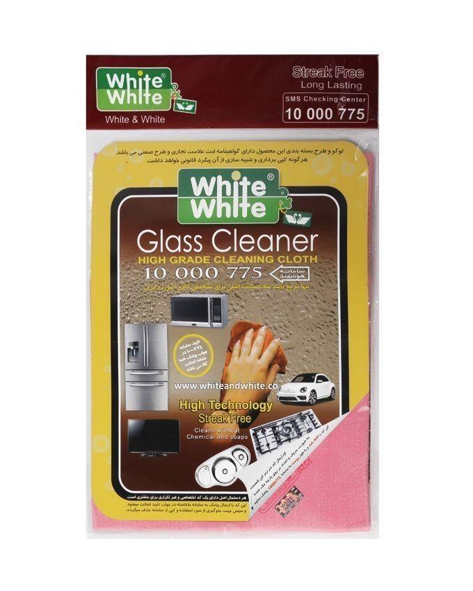 دستمال تمیز کننده white & white |