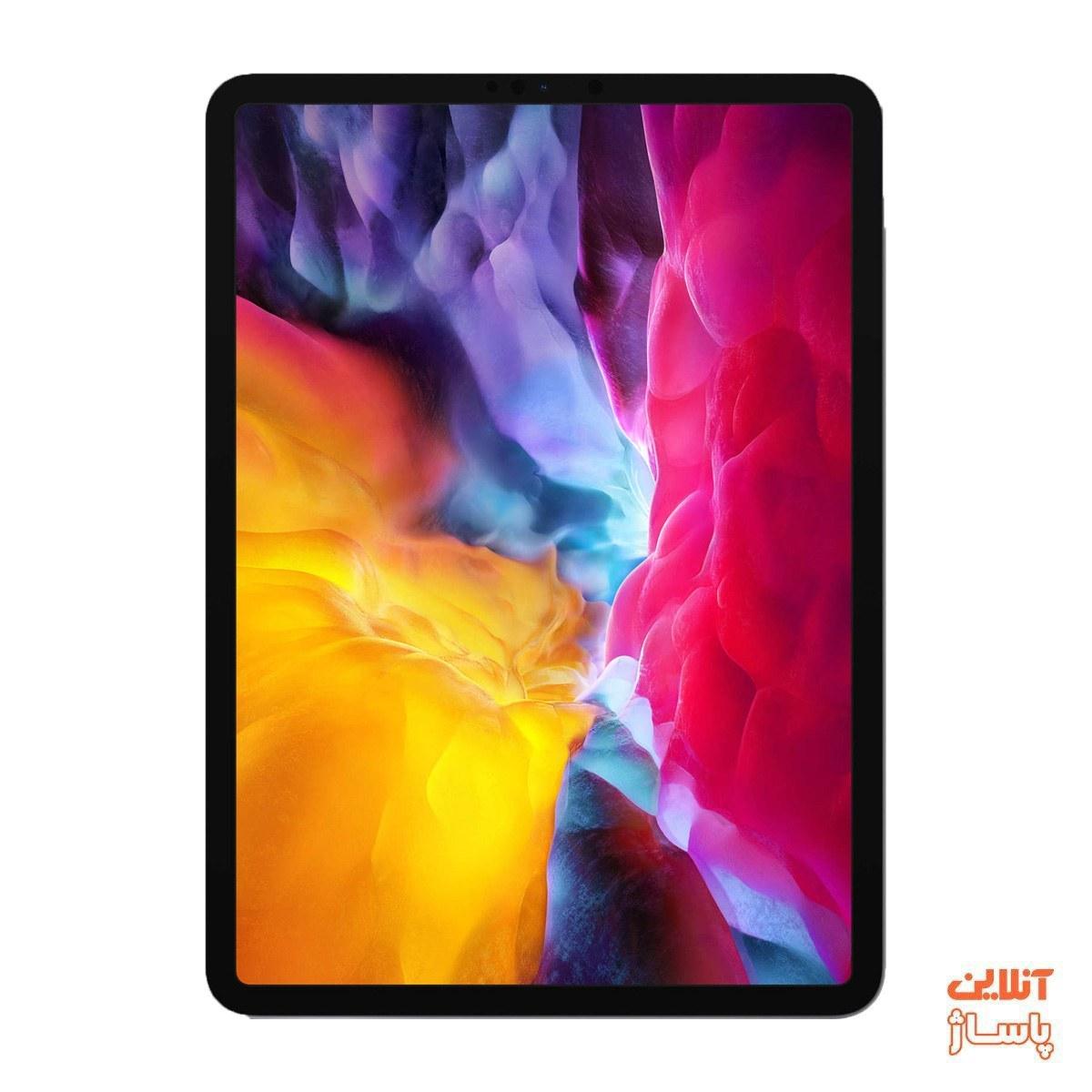 تصویر تبلت اپل مدل iPad Pro 11 inch 2020 4G ظرفیت 256 گیگابایت Apple iPad Pro 11 inch 2020 4G 256GB Tablet