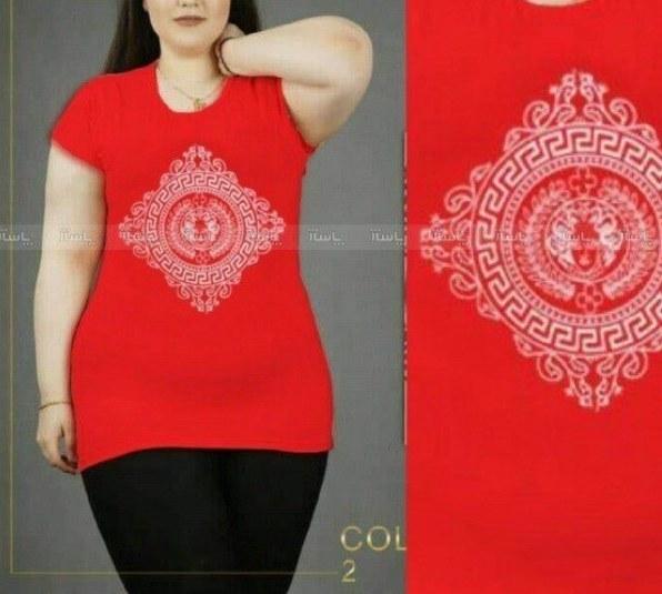 تی شرت زنانه سایز بزرگ |