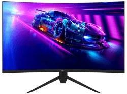 تصویر مانیتور 32 اینچ G plus مدل Gaming Curve GGM-K327QN